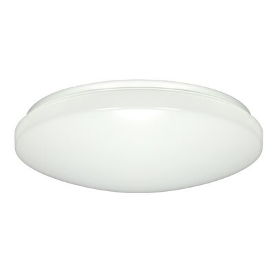 Annmarie 1-Light Flush Mount Size: 14