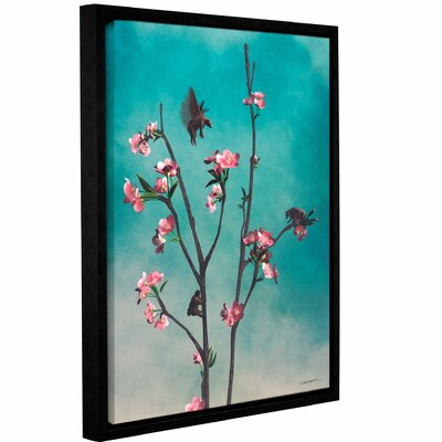 'Hummingbears' Framed Graphic Art on Wrapped Canvas Size: 10
