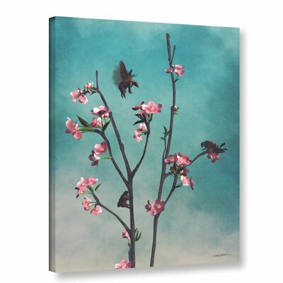 'Hummingbears' Graphic Art on Wrapped Canvas Size: 10