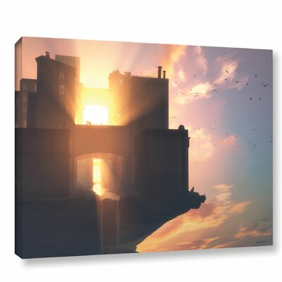 'Last Light' Photographic Print on Wrapped Canvas Size: 14