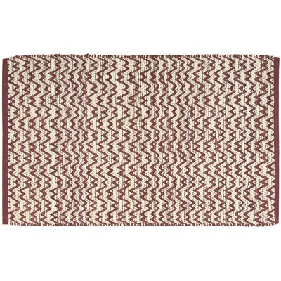 Jane Burgundy/Ivory Area Rug