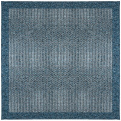 Felipe Denim Indoor/Outdoor Area Rug Rug size: Square 76