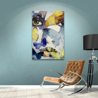 'Gothic Butterflies' Painting Print on Wrapped Canvas EBND7032 41001468