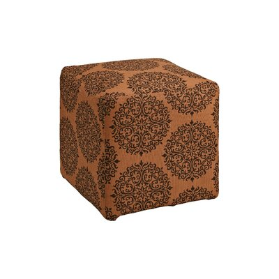Dorothea Cube Ottoman Upholstery: Spice