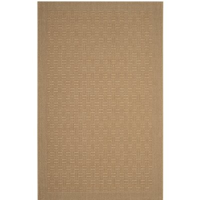 Jenny Brown Area Rug Rug Size: Rectangle 8 x 11