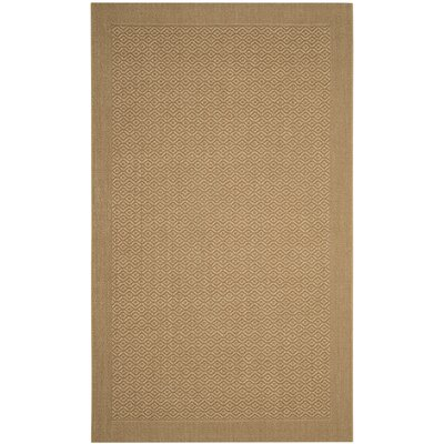 Etta Brown Area Rug Rug Size: 4 x 6