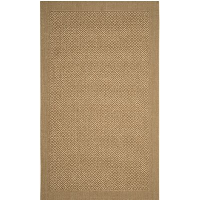 Wyckhoff Brown Area Rug Rug Size: Rectangle 2' x 3'