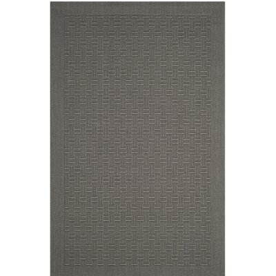 Jenny Gray Area Rug Rug Size: Rectangle 5 x 8