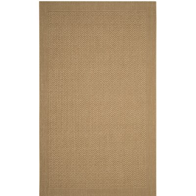 Wyckhoff Brown Area Rug Rug Size: 3 x 5