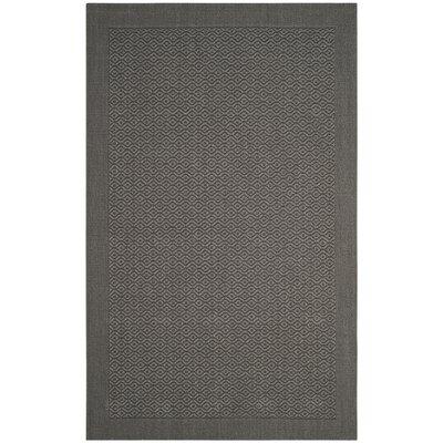 Wyckhoff Gray Area Rug Rug Size: Rectangle 3 x 5