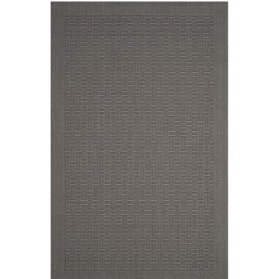 Jenny Gray Area Rug Rug Size: Rectangle 4 x 6