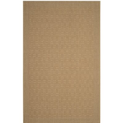 Jenny Brown Area Rug Rug Size: 5 x 8