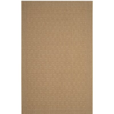 Jenny Brown Area Rug Rug Size: Rectangle 4 x 6
