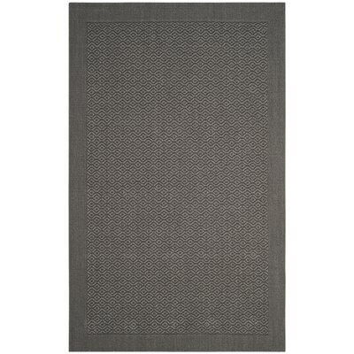 Wyckhoff Gray Area Rug Rug Size: Rectangle 2 x 3