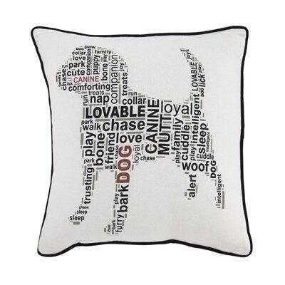 Brandie Cotton Throw Pillow