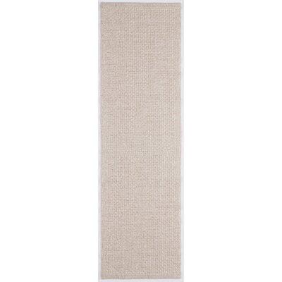 Felipe Cream Indoor/Outdoor Area Rug Rug size: Runner 26 x 11