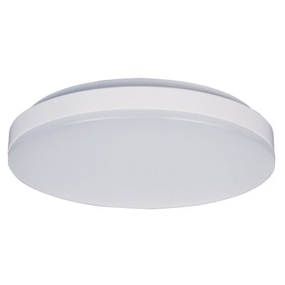 Beesley EE 1-Light LED Flush Mount Size: 2.5 H x 11 W x 11 D