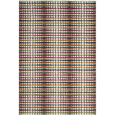 Cleveland Cream Area Rug Rug Size: Rectangle 8 x 10