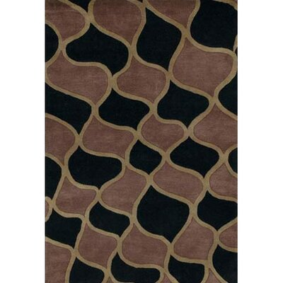 Sidney Brown Area Rug Rug Size: Rectangle 79 x 106