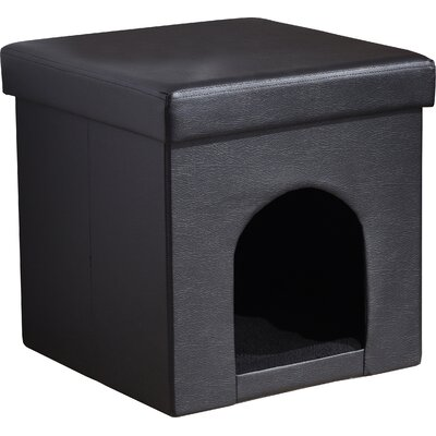 Brent Pet Ottoman Color: Gray