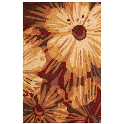 Allenford Hand-Woven Brown Area Rug Rug Size: 26 x 4