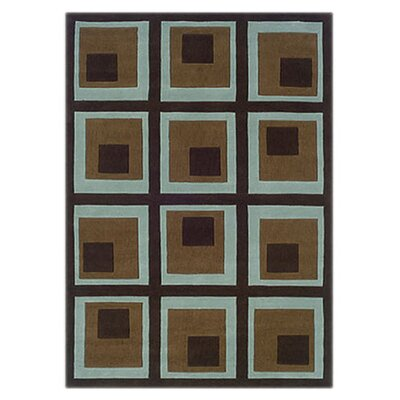 Willow Hand-Tufted Brown/Tan Area Rug Rug Size: 8 x 10