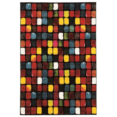 Bee Multi Area Rug Rug Size: 2' x 3'