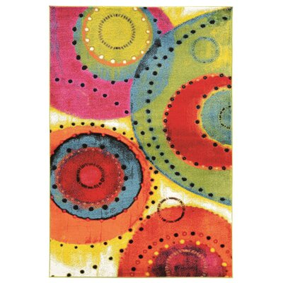 Bee Abstract Multi Area Rug Rug Size: Rectangle 8 x 103