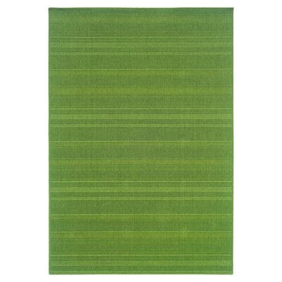 Kelli Green Indoor/Outdoor Area Rug Rug Size: 73 x 106