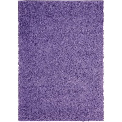 Shibata Light Violet Area Rug Rug Size: Rectangle 5' x 7'