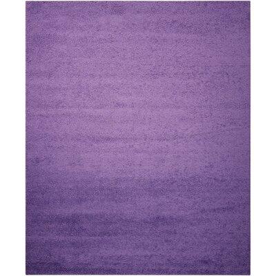Alexis Light Violet Area Rug Rug Size: 82 x 10