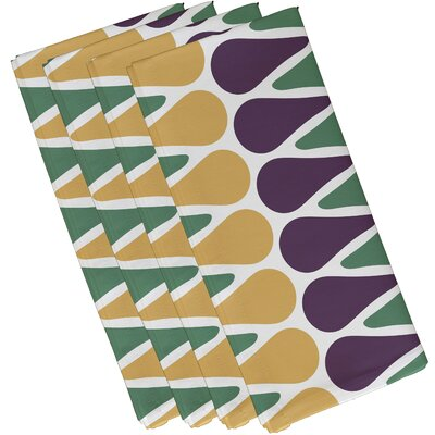 Doretta Picks Napkin Color: Green/Yellow/Purple