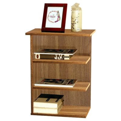Fay Modern 3 Shelf End Table Finish: Walnut