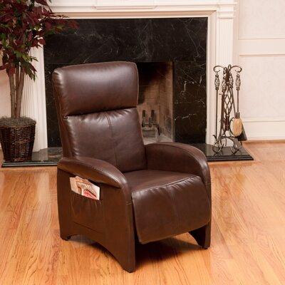 Fern Recliner Upholstery: Brown