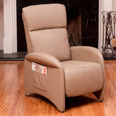 Baretta Leather Recliner Upholstery: Vicenza Camel