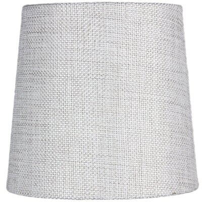 Contemporary 5.5 Burlap Drum Candelabra Shade Color: Khaki