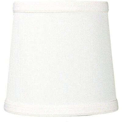Contemporary 5.5 Linen Drum Candelabra Shade Color: Light Oatmeal