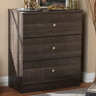 Herminia 3 Drawer Chest