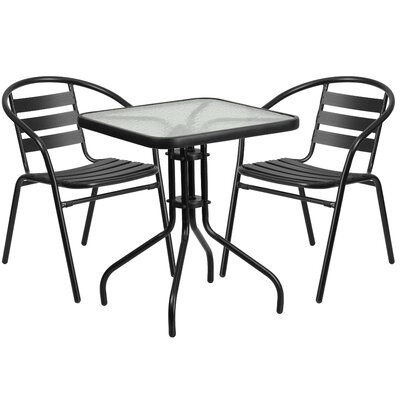 Myron 3 Piece Bistro Set