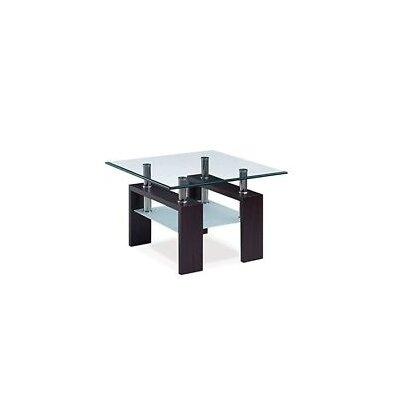Neva End Table (Set of 2) Finish: Black