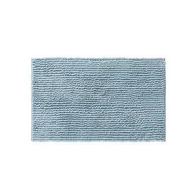 Claretta Rectangle Bath Rug Size: 23 W x 38 L, Color: Aqua