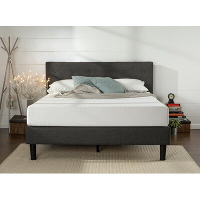 Odessa Upholstered Platform Bed Size: Queen