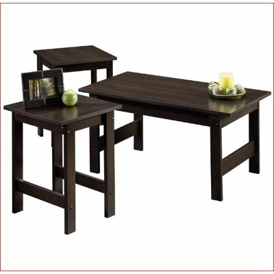 Gerardo 3 Piece Coffee Table Set Finish: Cinnamon Cherry