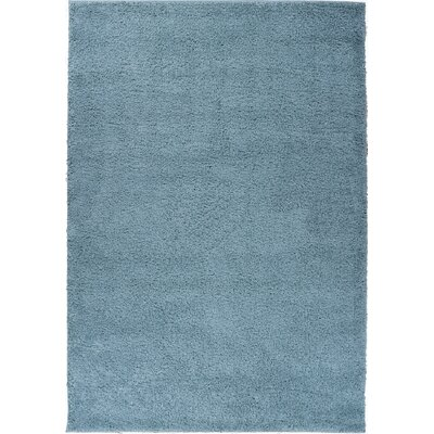 Dante Plain Solid Gray Area Rug Rug Size: 67 x 910