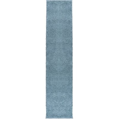 Dante Plain Solid Gray Area Rug Rug Size: Runner 18 x 72