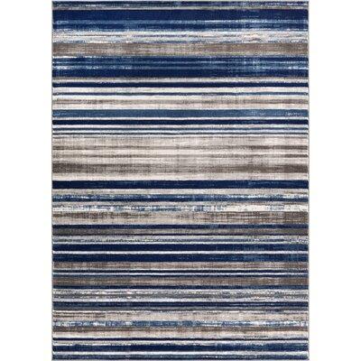 Ramona Blue Area Rug Rug Size: 710 x 910