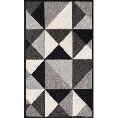 Daniel Gray Area Rug Rug Size: 33 x 47