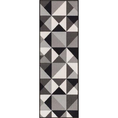 Christen Gray Area Rug Rug Size: 18 x 5