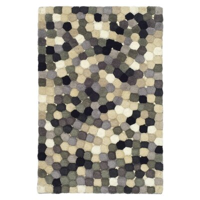 Freda Hand-Tufted Black/Gray Area Rug Rug Size: Rectangle 2 x 3