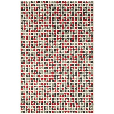 Chidi Ivory Wool Rug Rug Size: Rectangle 76 x 96